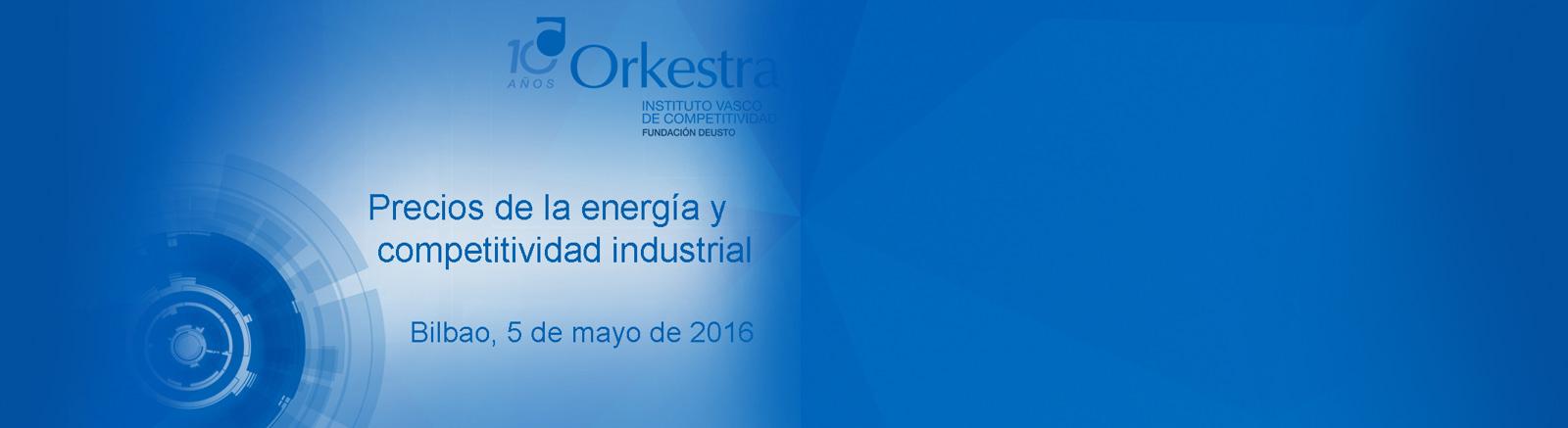 Precios de la energía y competitividad industrial