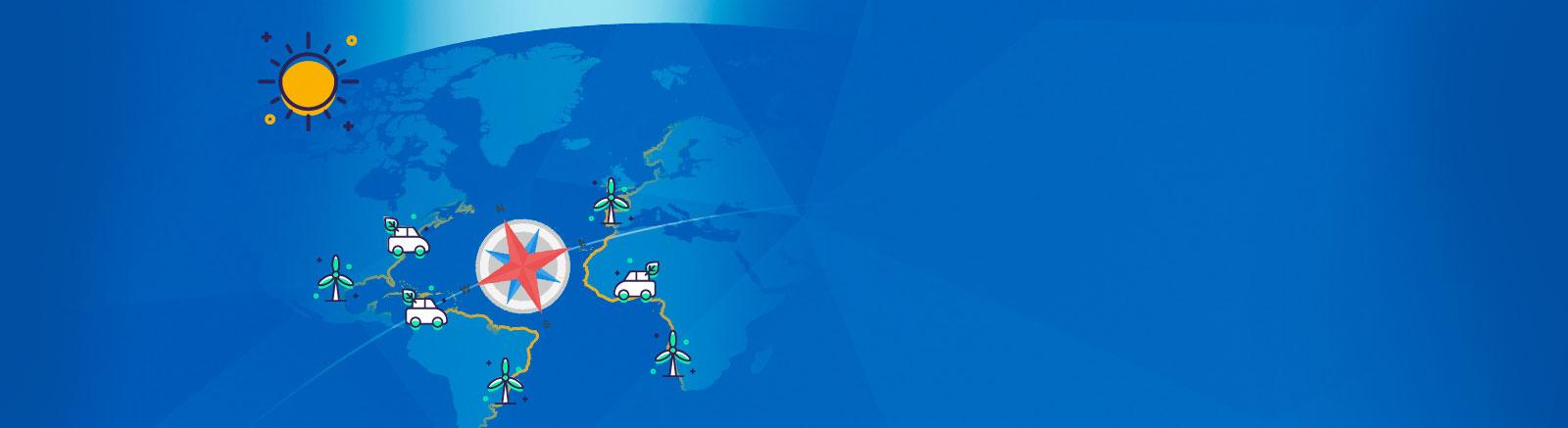 El océano Atlántico y la energía
